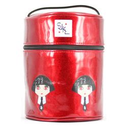 植村秀圣诞红色化妆包