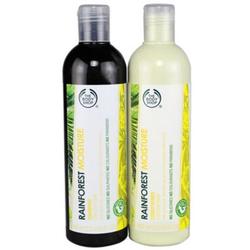 美体小铺热带雨林蜂蜜洗发护发两件套