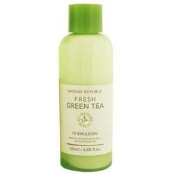 自然乐园清新绿茶乳液