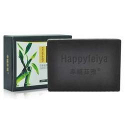 幸福菲雅竹炭祛黑头控油精油芳疗皂