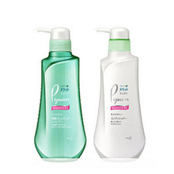 花王MeritPyuan弱酸性无硅头皮清洁洗发水/护发素(滋润型)