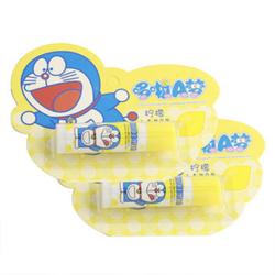 哆啦A梦儿童柠檬润唇膏