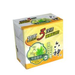 六神艾叶精油除菌香皂