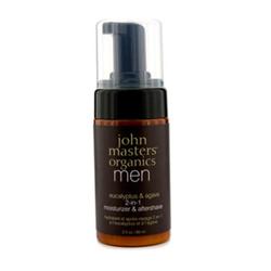 John Masters organics男士桉树&龙舌兰滋润乳
