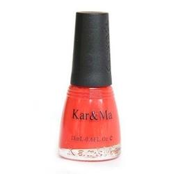 【其他】卡玛糖果暖色系橙红色环保指甲油