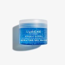 优姿婷lumene LAHDE北极冰泉充盈水感修复啫喱面膜