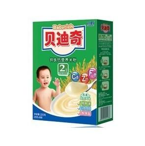 贝迪奇2段锌铁钙营养米粉