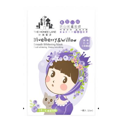蓝莓白柳沁白柔肤面膜