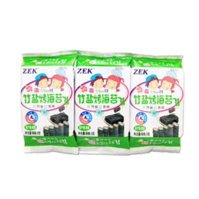 ZEK竹盐碳烤儿童包饭海苔